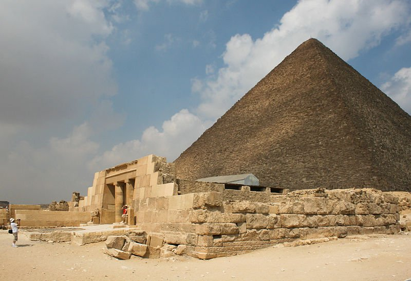 Aegypten-Grosse Pyramide von Giza
