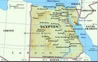 Ägypten - Karten