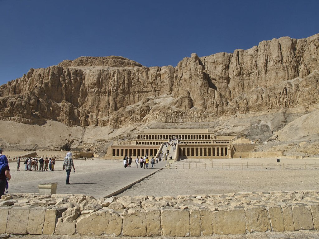 Aegypten Thebes Deir el-Bahri