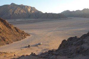 Aegypten Wuestenlandschaft