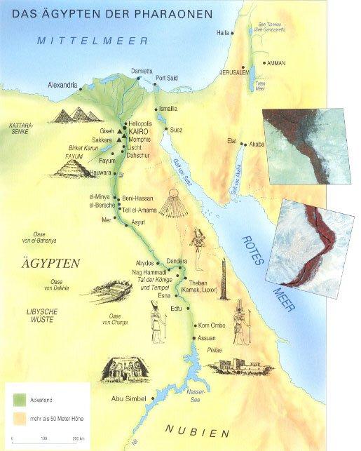 Karte Altes Agypten Goudenelftal