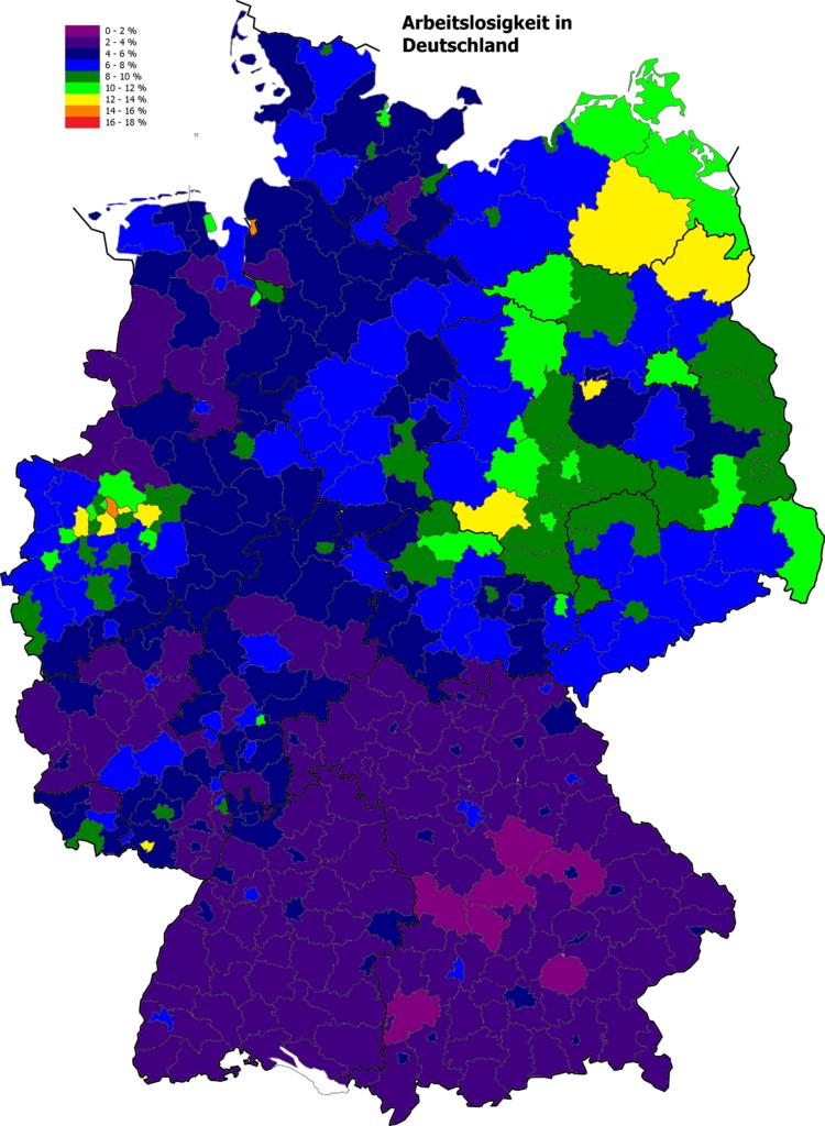 Arbeitslosigkeit in Deutschland Oktober 2015