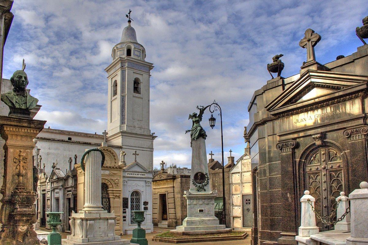 Argentinien Buenos Aires Friedhof