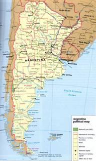 Argentinien - Karten