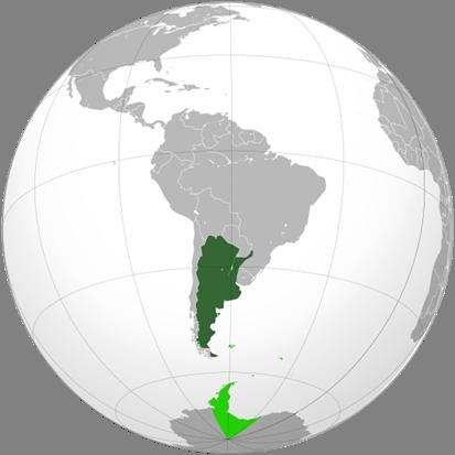 Argentinien Lage