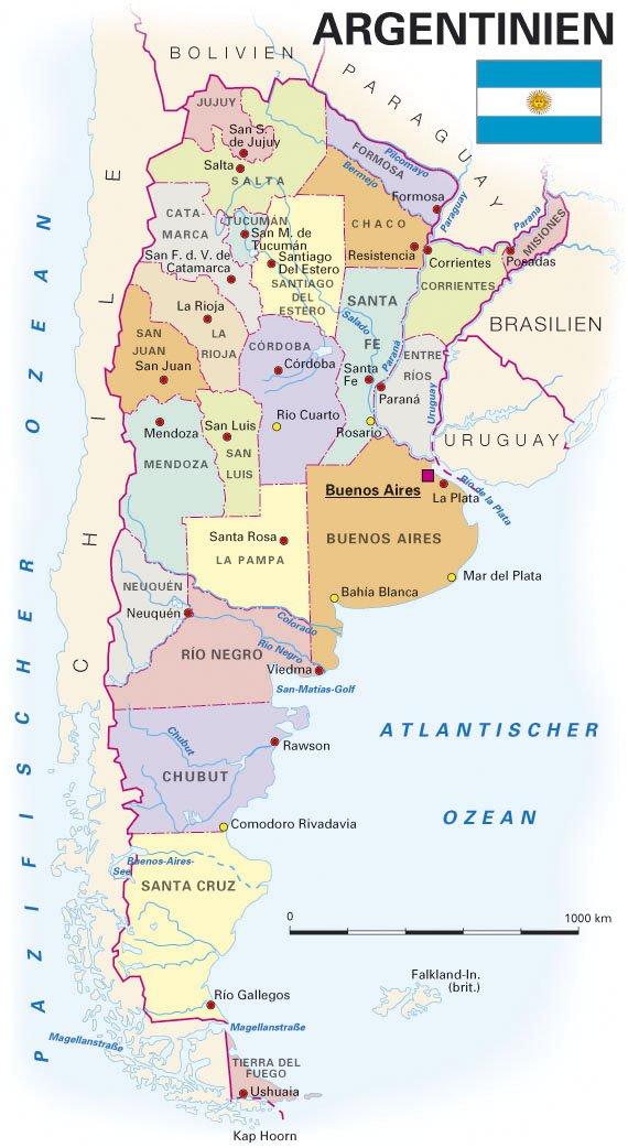 Argentinien Regionen
