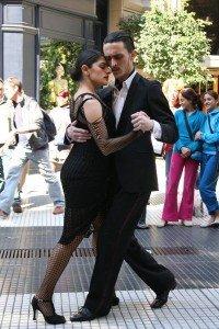 Argentinien Tango auf der Strasse