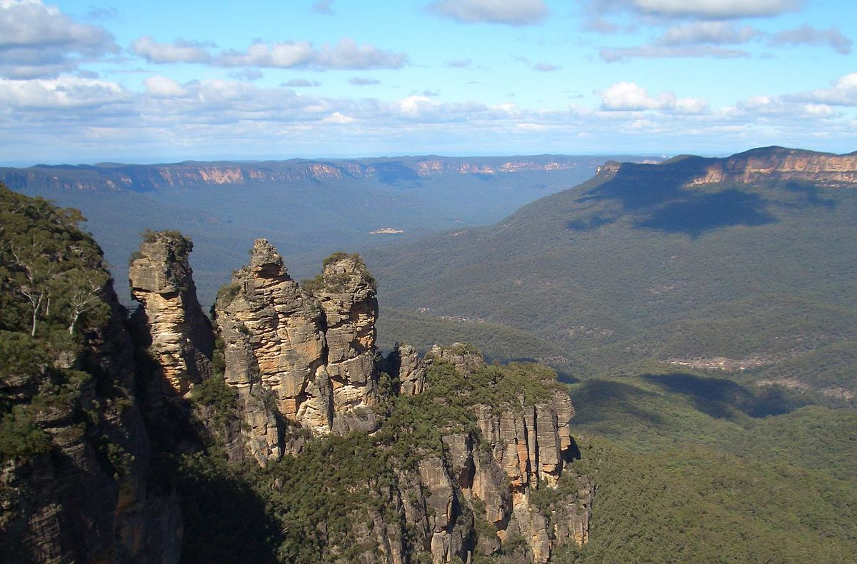 Australien Blue Mountains Three Sisters