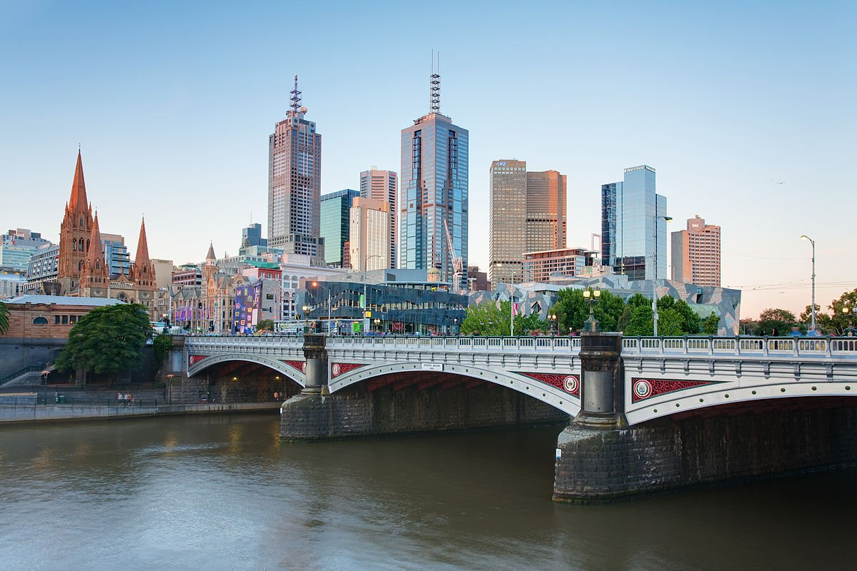 Australien Melbourne Bridge