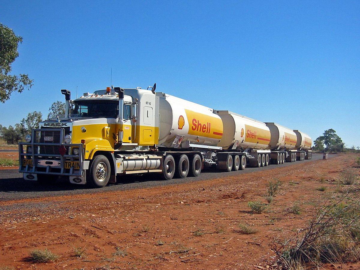 Australien Typical Road Train