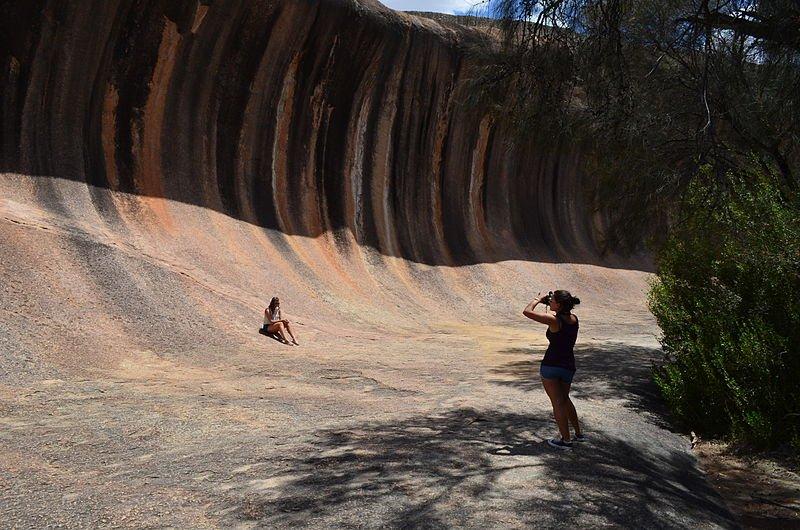Australien Western Australia Wave Rock