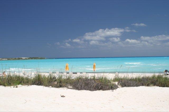 Bahamas-Insel_Exuma -Smaragdbucht