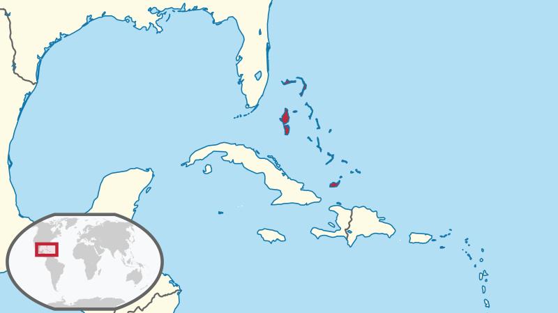 Bahamas - Lage