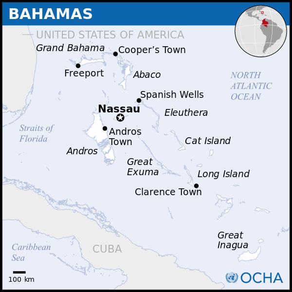 Bahamas - einige Inseln