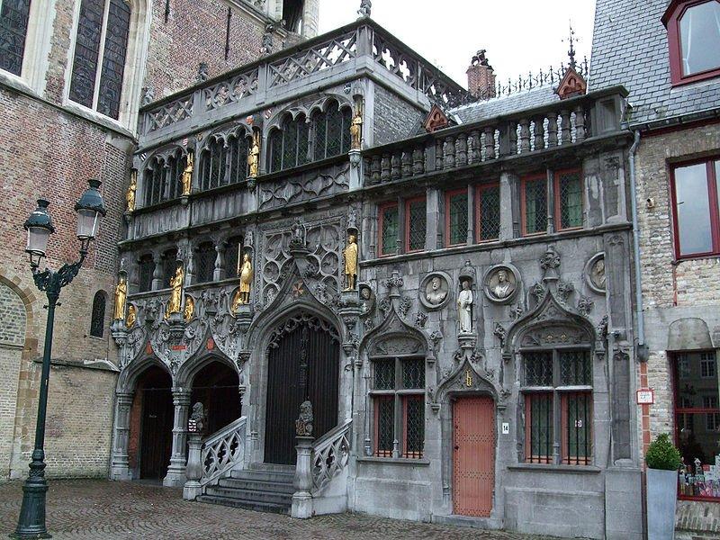 Belgien Bruegge Basilika Heilig Blut