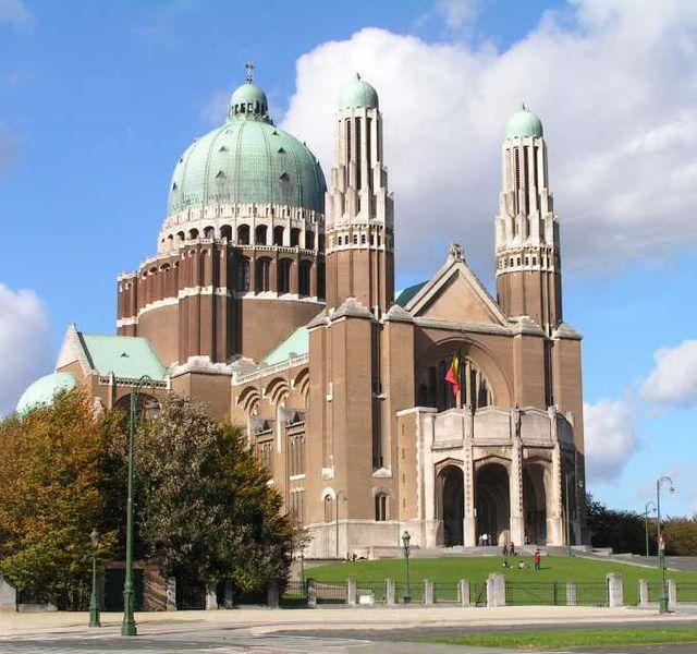 Belgien Bruessel Basilika des Heiligen Herzens