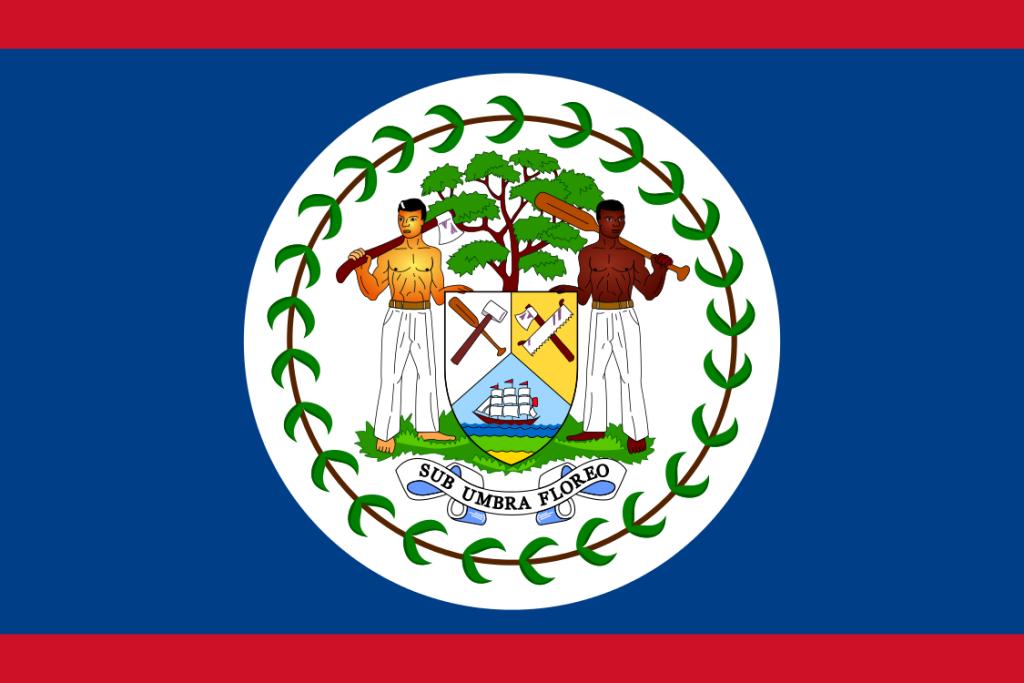 Belize-Flagge