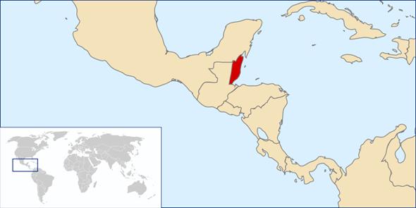 Belize Lage