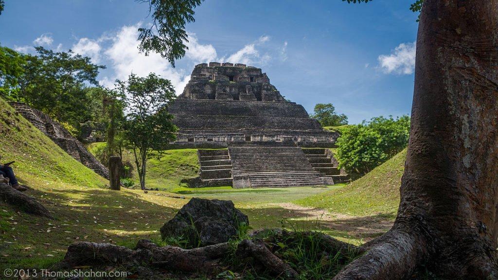 Belize - Xunantunich - Maya Ruinen