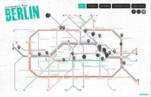 Berlin Streetart-Map