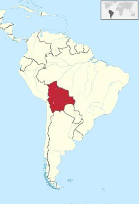Bolivien Lage