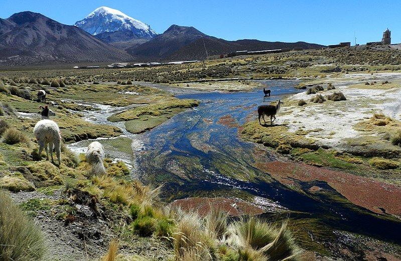 Oruro - Rio Sajama