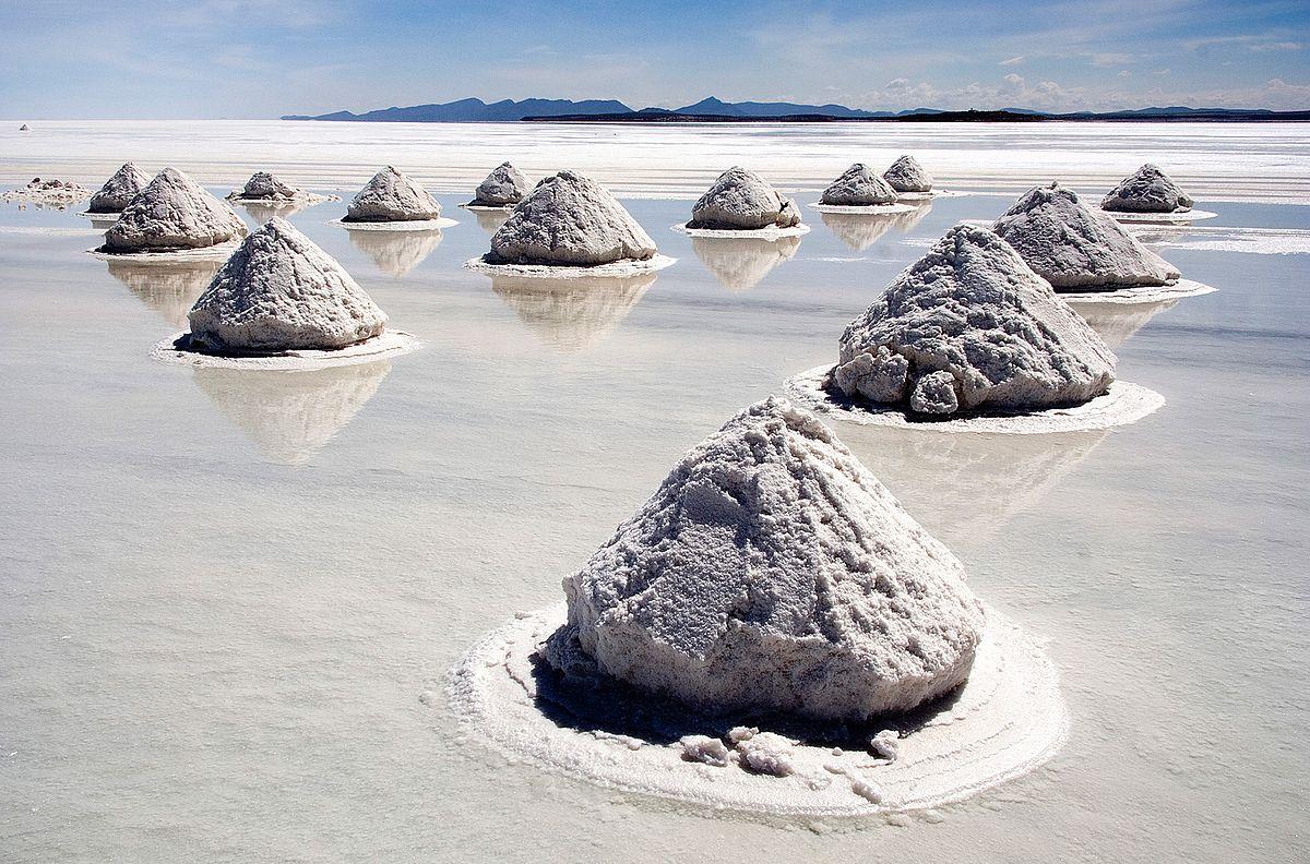 Bolivien - Uyuni - Salzberge