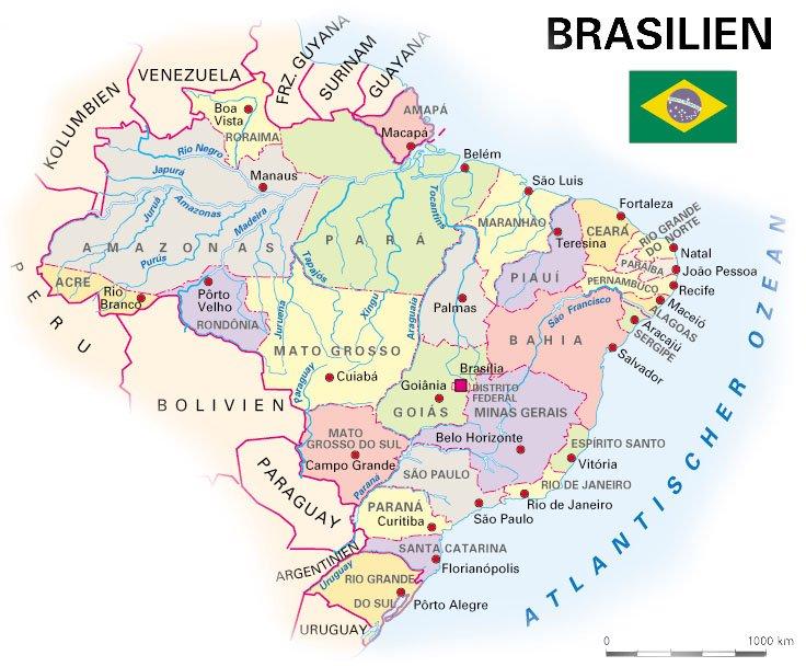 Rio De Janeiro Karte.Karten Von Brasilien Und Rio De Janeiro Strassenkarte Und