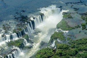 Brasilien Iguazu Wasserfälle