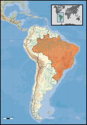 Brasilien Lage