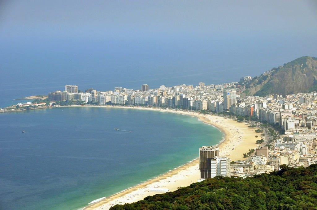Brasilien - Rio - Copacabana Strand
