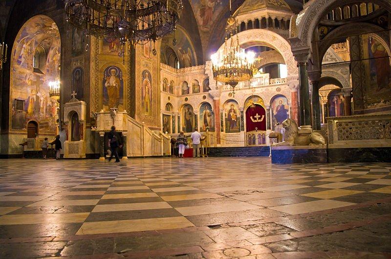 Bulgarien - Gemaelde in der Alexander Nevsky Cathedral