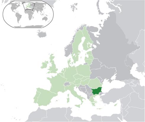 Bulgarien Lage
