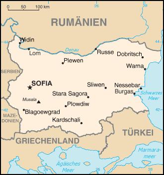 Bulgarien Nachbarstaaten
