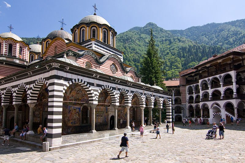 Bulgarien - Rila Kloster