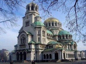 Bulgarien Sofia Alexander Nevsky Kathedrale