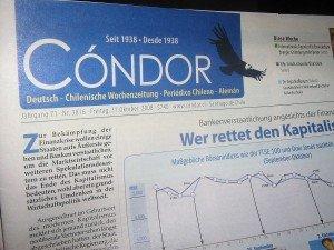 Chile Deutschsprachige Wochenzeitung Condor
