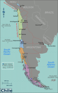 Chile - Grossregionen