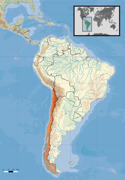 Chile Lage