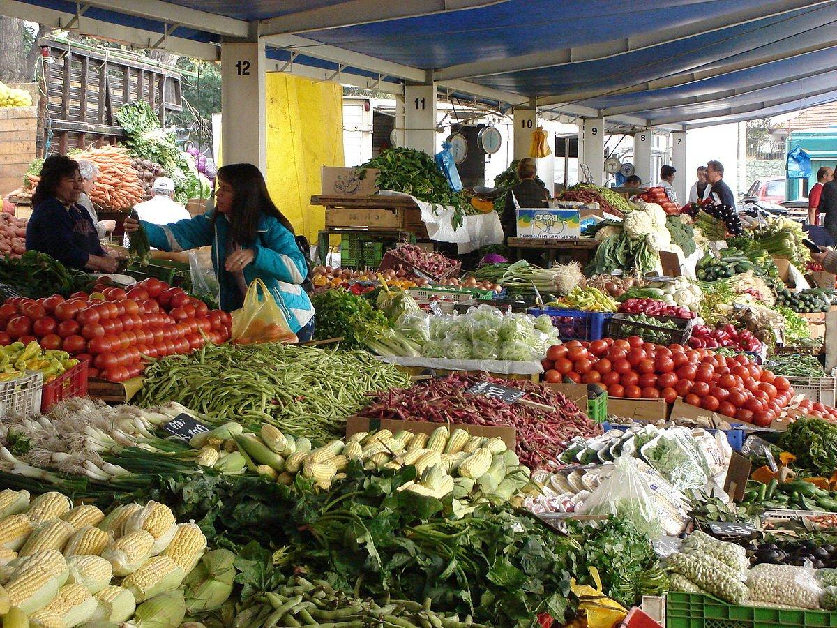Chile Markttreiben in Santiago
