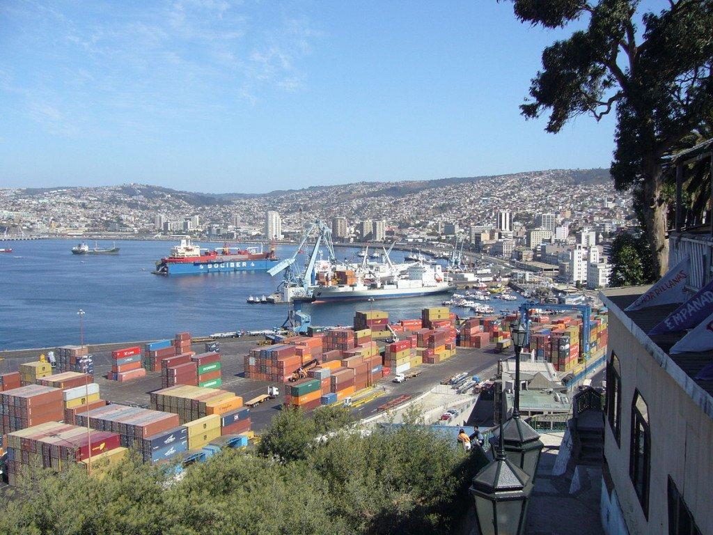 Chile Valparaiso Hafen
