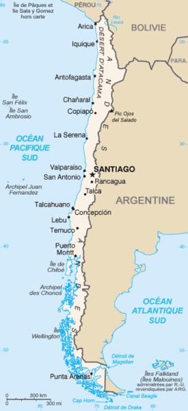 Chile Wichtigste Staedte