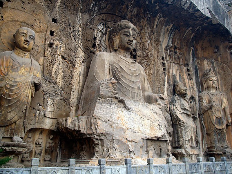 China - Longmen Grotten