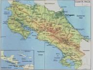 Costa Rica Karten