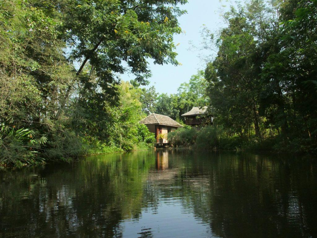 """Wohnen im Natur-Resort """"Baan Sammi"""", nahe der Grossstadt Chiang Mai im Norden Thailands"""
