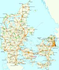 Dänemark Karten