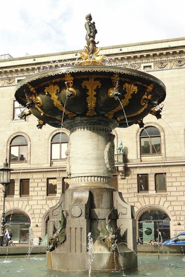 Kopenhagen - Caritas Well