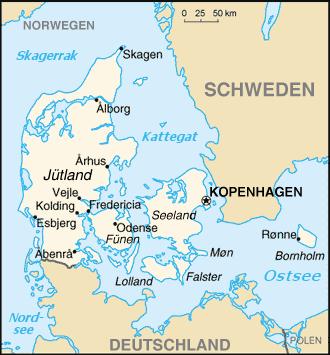 Dänemark Nachbarstaaten