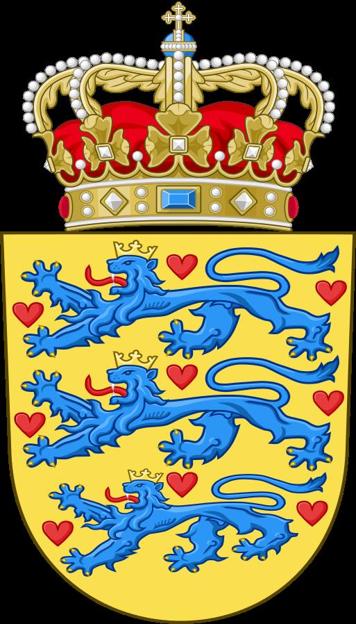 Daenemark-Wappen