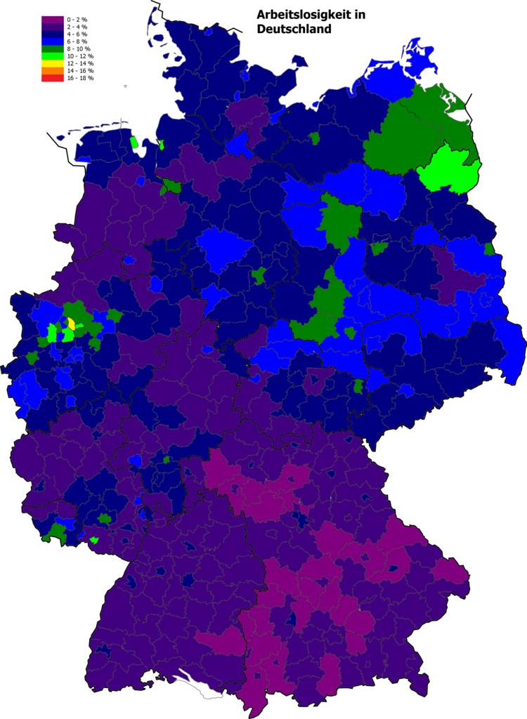 Arbeitslosigkeit in Deutschland Oktober 2018